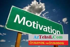 Motivasiya nədir? - KURİKULUM