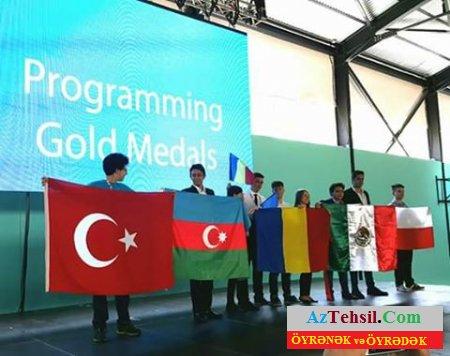 Beynəlxalq Olimpiyadada Azərbaycan məktəblilərinin daha bir uğuru