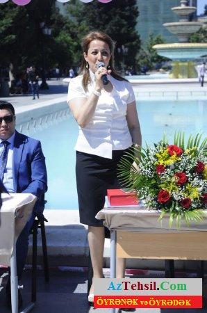 """7 saylı tam orta  məktəbdə  """"Son zəng""""  tədbiri  keçirildi - FOTO"""