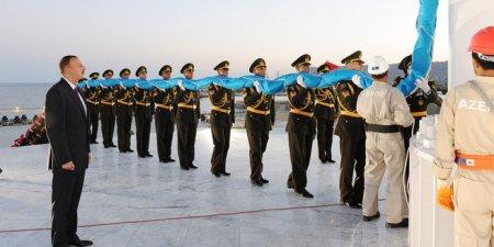 Azərbaycan Respublikasının  Dövlət Bayrağı