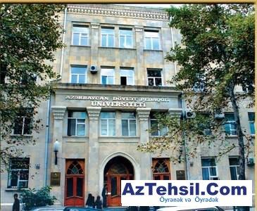 Azərbaycan Dövlət Universiteti yeni tədris ili ərəfəsində