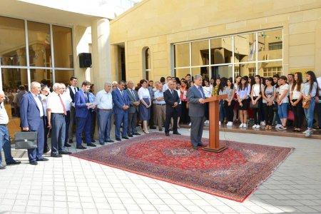 ADPU-da 15 sentyabr – Bilik Gününə həsr edilmiş tədbir keçirilib