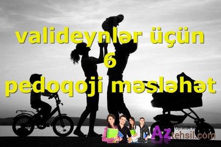 ALTI PEDAQOJİ MƏSLƏHƏT- ƏDƏB