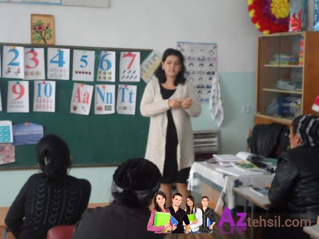 Qax rayonunda məktəbəhazırlıq qruplarının müəllimləri ilə seminar keçirilib