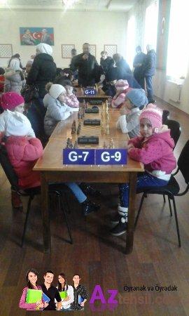 Şahmat üzrə zona yarışında Şabran rayon Uşaq-Gənclər Şahmat Məktəbinin uğuru