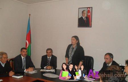 Ağstafa Rayon Təhsil Şöbəsi məktəb direktorlarının iştirakı ilə şura iclası keçirib