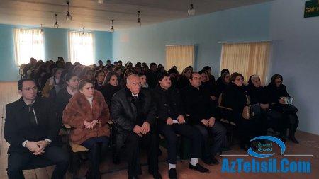 Samux rayonunda buraxılış imtahanlarında olacaq dəyişiliklərlə bağlı seminar keçirilib