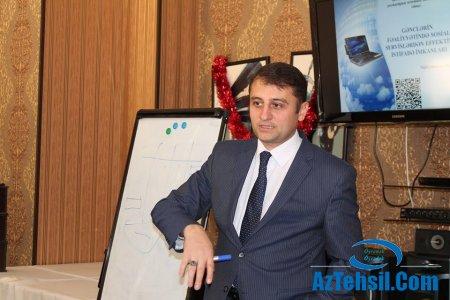 """Sumqayıtda gənclər üçün """"Sosial Mühəndislik"""" peşəsi təlimi"""