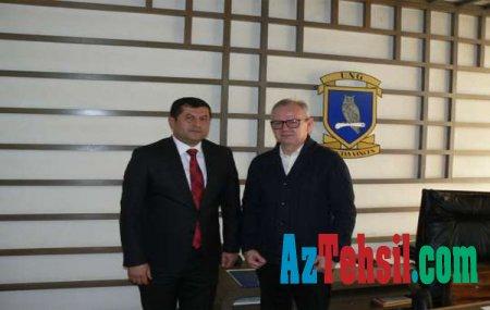 ADAU ilə Sloveniyanın Nova Gorica Universiteti arasında əməkdaşlıq genişlənir