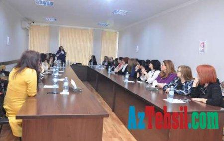 """ADU-da """"Dədə Qorqud hekayələri"""" mövzusunda seminar keçirilib"""