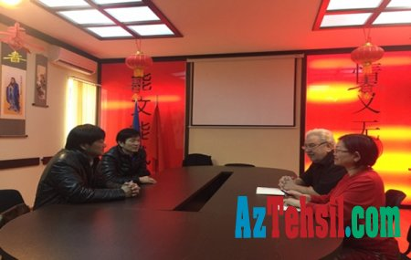 ADU-nun Konfutsi İnstitutunda görüş - Fotolar