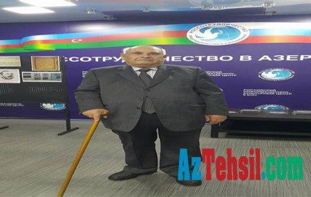 PREZİDENT PEDAQOGİKAMIZIN PATRİARXINI TƏBRİK ETDİ