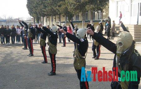 Beynəlxalq Mülki müdafiə gününə həsr edilmiş tədbir keçirilib