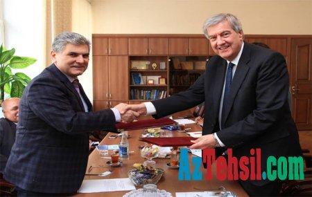 ADPU ilə AMİM arasında anlaşma memorandumu imzalanıb