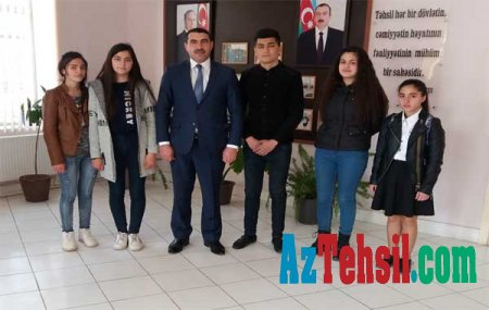 Ağstafa məktəbliləri Azərbaycan uşaqlarının IV formunun seçim turunda iştirak edib