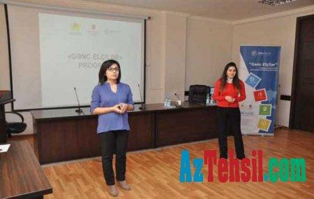 """ADU tələbələri üçün """"Gənc Elçilər"""" proqramı çərçivəsində təqdimat keçirilib"""