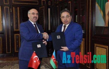 BDU Türkiyənin üç universiteti ilə müqavilə imzalayıb