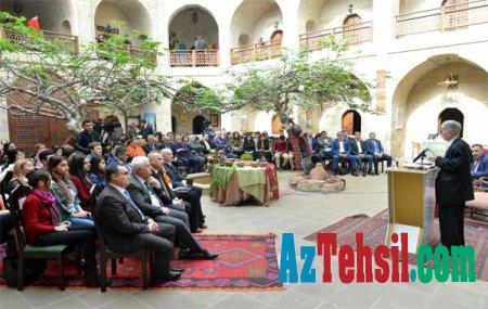 """Şirməmməd Hüseynovdan """"Novruz mühazirəsi"""""""