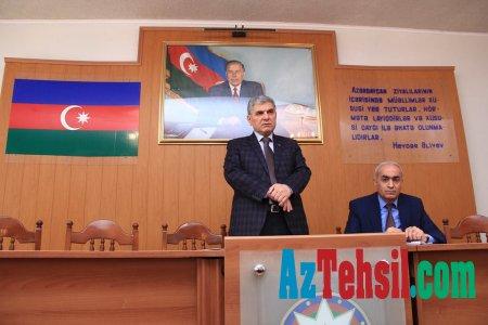 ADPU-nun rektoru,professor Cəfər Cəfərov Dissertasiya Şurasının üzvləri ilə görüşüb