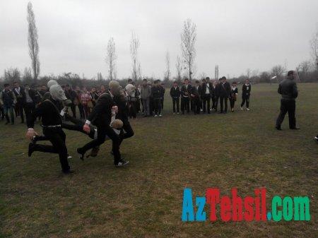 """Martın 13-də başlanan """"Şahin"""" Respublika hərbi idman oyunlarının zona birinciliyi üzrə yarışları davam etdirilir"""