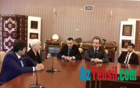 İnşaat Kolleci Gürcüstan təhsil müəssisələri ilə əməkdaşlığa hazırlaşır