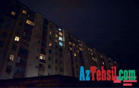 Bakıda BDU müəllimlərinin yaşadığı binada yanğın söndürülüb - YENİLƏNİB (FOTO/VİDEO)