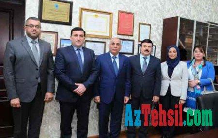 ADNSU-nun rektoru İraqın ölkəmizdəki səfiri ilə görüşdü