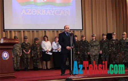 ADPU-da mart soyqırımı qurbanlarının xatirəsi anılıb