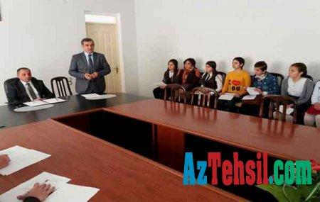 """""""Ən yaxşı təqdimat"""" müsabiqəsinin rayon mərhələsi keçirilib"""