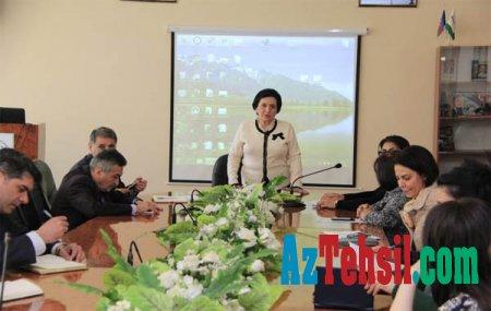 BSU-da 31 mart soyqırımı gününə həsr olunmuş tədbir keçirilib