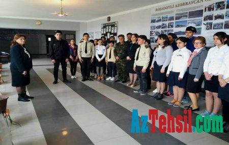 """""""Rəşadətli Azərbaycan Ordusu"""" mövzusunda tədbirlər keçirilib"""