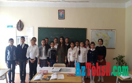"""""""Rayonumuzun gənc müəllimləri"""" rubrikasının bugün qonağı Lalə Məmmədova olub"""