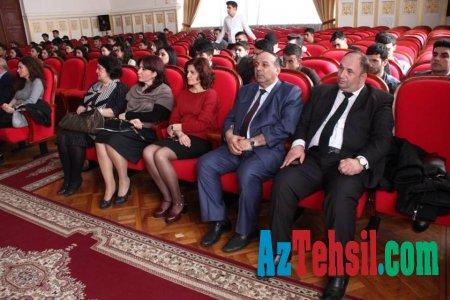 ADPU-də Heydər Əliyevin 94 illiyinə həsr olunan tədbir keçirilib