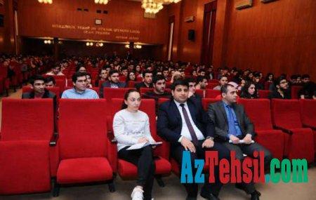 """ADNSU-da """"Elektron hökumət"""" haqqında seminar keçirildi"""