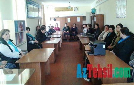 Samuxda müəllim və valideyinlərin iştirakı ilə maarifləndirici seminar keçirilib