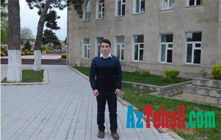 Şabranda Respublika fənn olimpiadaları üzrə yarışda Murad Cəbrayılov I yerə layiq olub