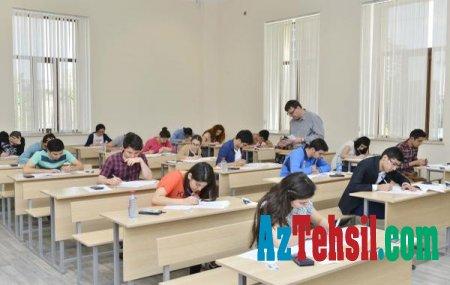 """Bakıda imtahanlarda məzunların 8,51 %-i Ana dilindən """"2"""" alıb"""