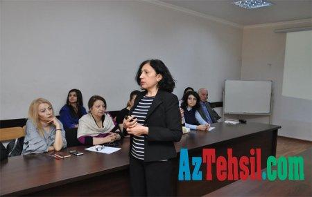 ADU-da akademik heyət üçün seminar keçirilib