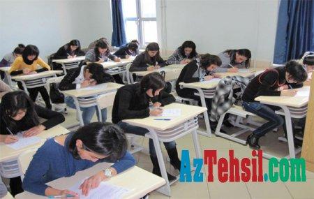 Mayın 27-i I və IV kurslar sınaq imtahanı verəcəklər