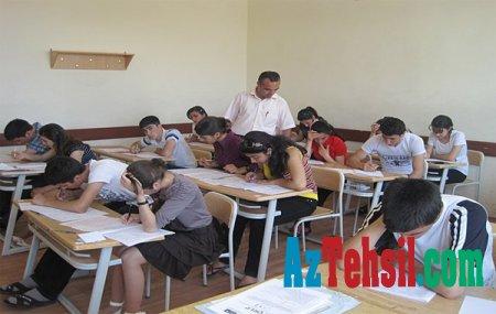 Dövlət İmtahan Mərkəzi I-IV ixtisas qrupları üzrə sınaq imtahanları keçirib