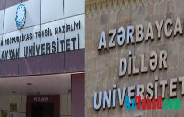 Bakı Slavyan Universiteti Azərbaycan Dillər Universitetinə birləşdirilə bilər