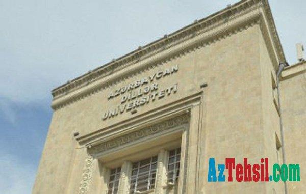 Azərbaycan Dillər Universiteti yenidən təşkil edilir