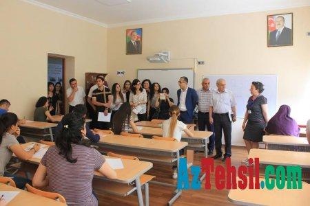 BSU-da imtahanların gedişatı ilə əlaqədar mediatur keçirilib