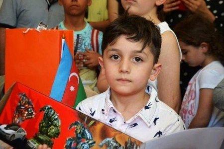 Azərbaycanda beş yaşlı uşaqdan yeni rekord