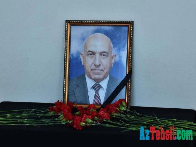 Bu dövlət universitetinə ağır itki: Kafedra müdiri iş başında öldü