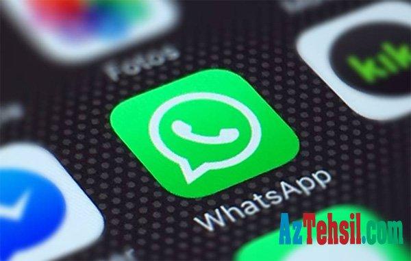 """""""WhatsApp""""a daha bir yenilik gəlir"""