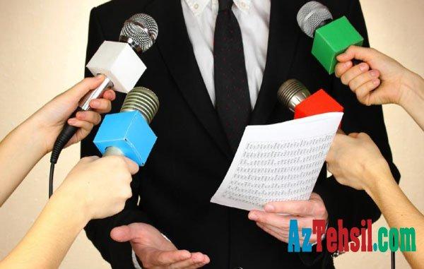 Bu gün jurnalist olmaq istəyənlər sınağa çəkiləcək