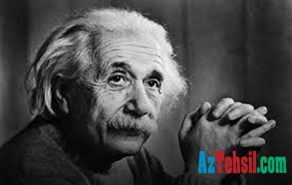 """Albert Eynşteyn dərslərindən """"2"""" alırdı? – ATTESTAT FOTOSU"""