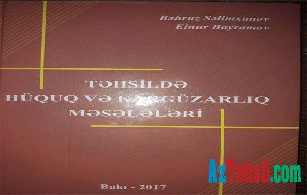 Sumqayıtda məktəb direktorları üçün vacib stolüstü kitab