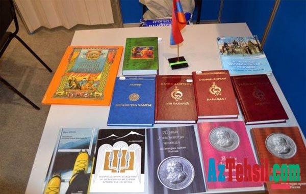 Beynəlxalq kitab sərgisində Azərbaycana qarşı təxribat - FOTO